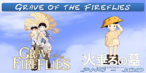 Grave of the Fireflies ICO & PNG by bryan1213