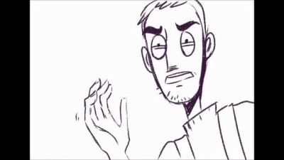 Super rough and short AATR Prologue animatic by Kayetart