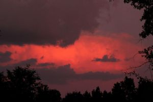 Evening Clouds by Rjet33