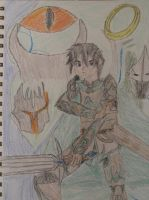 Kirito in Lord of the Rings online by Caharvey