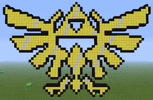 Minecraft - Triforce by Unstable-Life