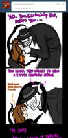 Part 1 Smexy tumblr comic/ the-half-slender-being by arcanineryu