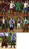 Official Disney Princes by TFfan234