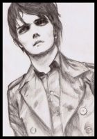 Gerard Way by cafeinne