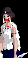 Princess Mononoke by SuperBluePanda
