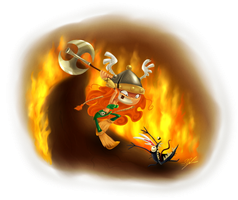 Rayman Legends - Chasing Me Nicely by Simina-Cindy