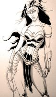 Wonder Woman design2 by GinoDrone