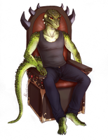 King of the Throne by shutterbones