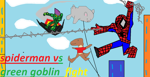 Spiderman Vs Green Goblin Unit Festivel by SuperUltimathero