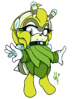 Apathy the Bee by Gaiamuth