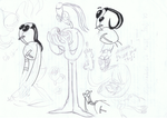 Armikrog sketches-- by KnockPainter