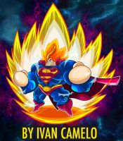 The Real Super Saiyan!!! by vancamelot