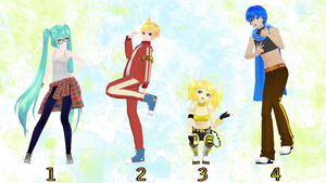 [MMD] Punk Pose Pack #1 + Download by EvergreenGem