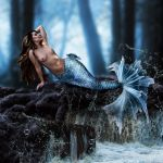 Resting Mermaid by SweediesArt