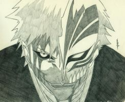 HOLLOWED! - Ichigo Kurosaki and Hichigo Shirosaki! by Falenis