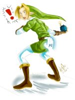 Wii want Link by Kim-SukLey