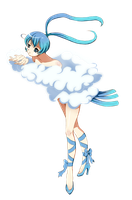 .: Gijinka Altaria :. by PirateHearts