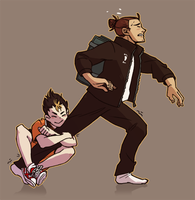 I'm on a Haikyuu!!-trip by Munkell