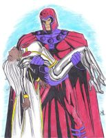 Magneto Arm Carries Storm by BobKO