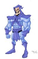 Skeletor in colors by sapienstoonz