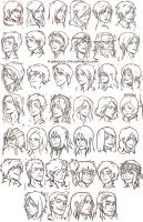40 heads by Kibbitzer