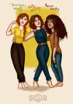 Next generation - the Weasley girls by aidinera