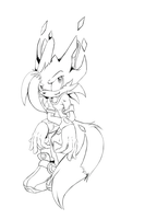 Syron lineart by Ashentar