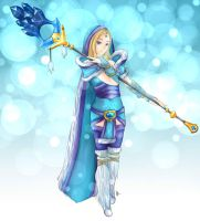 DOTA 2 - Crystal Maiden by domclw