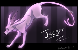 Pokemon TLS: Jaeger the Espeon by blueharuka