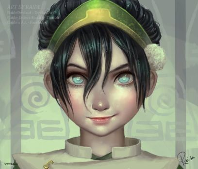 Toph | Speedpaint by RaideDeviant