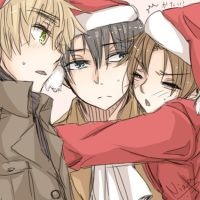 Merry Christmas and Happy Birthday Heichou! by janikol