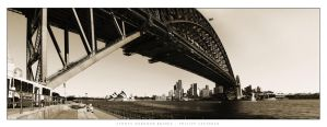 Sydney Harbour Bridge by philipp-eos