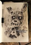 springtrap sketch by Nasuki100