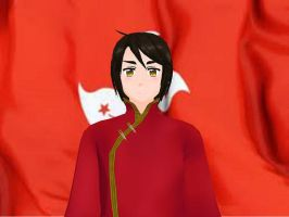 MMD Hetalia model:Hong Kong by Ash080897