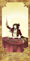 SoC Tarot -- I. The Magician by crackncake