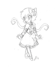 POSE PRACTICE: Little Ally #1 by InvaderIka
