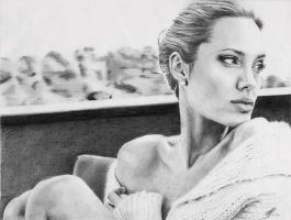 Angelina Jolie by H3lianthus