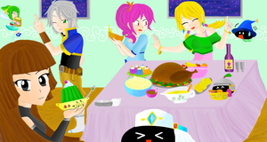 Dinner Party by Essie94