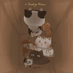 CE: Cats in the box by JocelynKhaw
