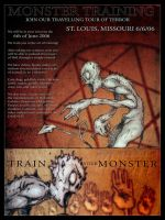 Monster Training -poster by coolkatcasey