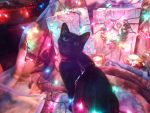 Christmasy Bastet by KiyiyaHowlingWolf