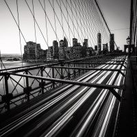 NYC Brooklyn Bridge by sensorfleck