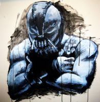 Bane painting by DGray666