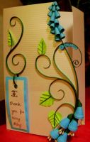 3D quilling - a first trial by PreetK
