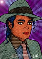 Michael Jackson... Pop Art by arihoff