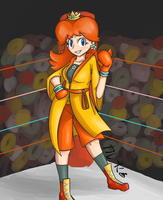 Boxer Daisy by Curry-Kohei