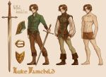 Luke Fairchild by CrystalCurtisArt