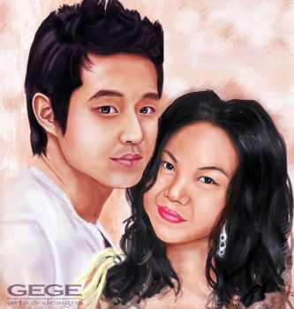 Chun and Me :D by Gege4U