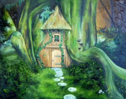 Tree house by itbeMacKenzie