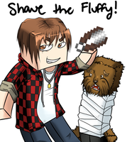Shave the Fluffy by Demintio